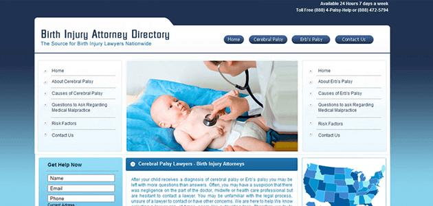 Birth Injury Attorney Directory