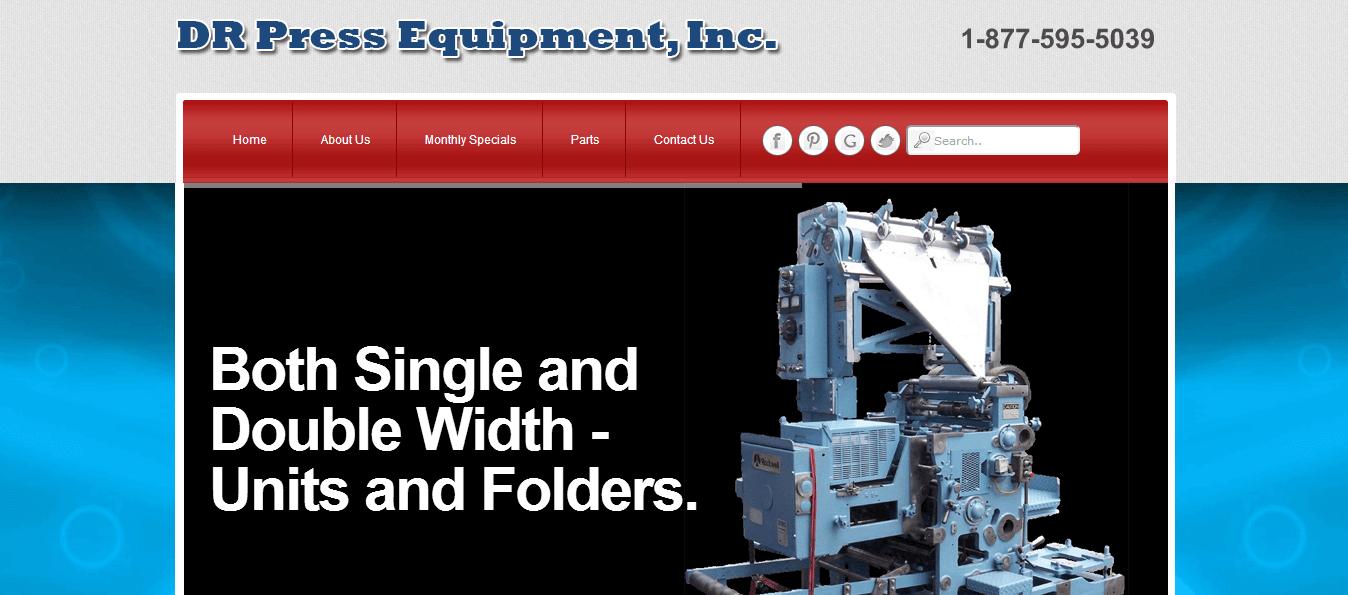 DR Press Equipment, Inc.