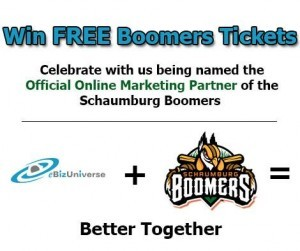 eBizUniverse Schaumburg Boomers Official Marketing Partner