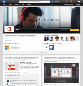 Microsoft Office Showcase Page