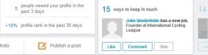 LinkedIn anniversary