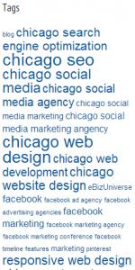 SEO keywords and tags.