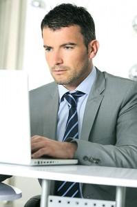 A web developer optimizing a site.
