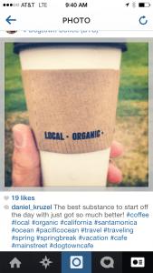 Screenshot of Instagram photo.