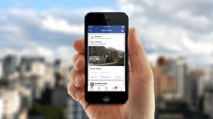 Mobile facebook videos