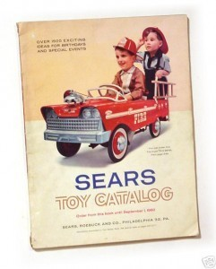 Sears toy catalog