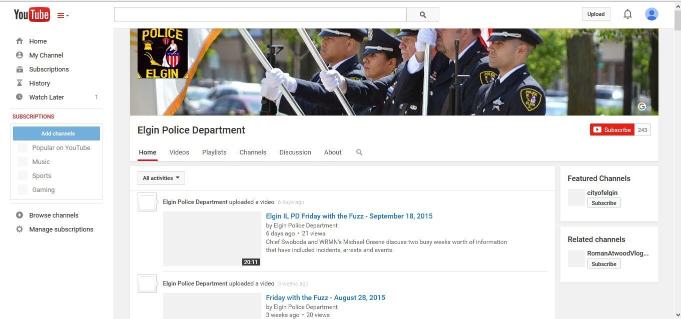 police department twitter Archives -