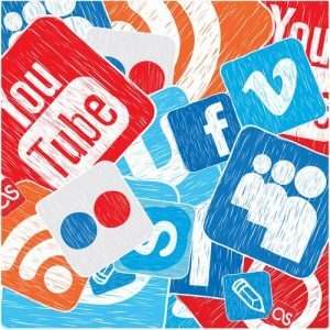 Columbia social media