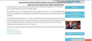 Webpage cross link