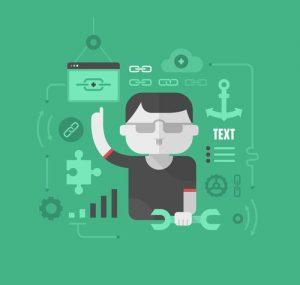 Building a website cross link