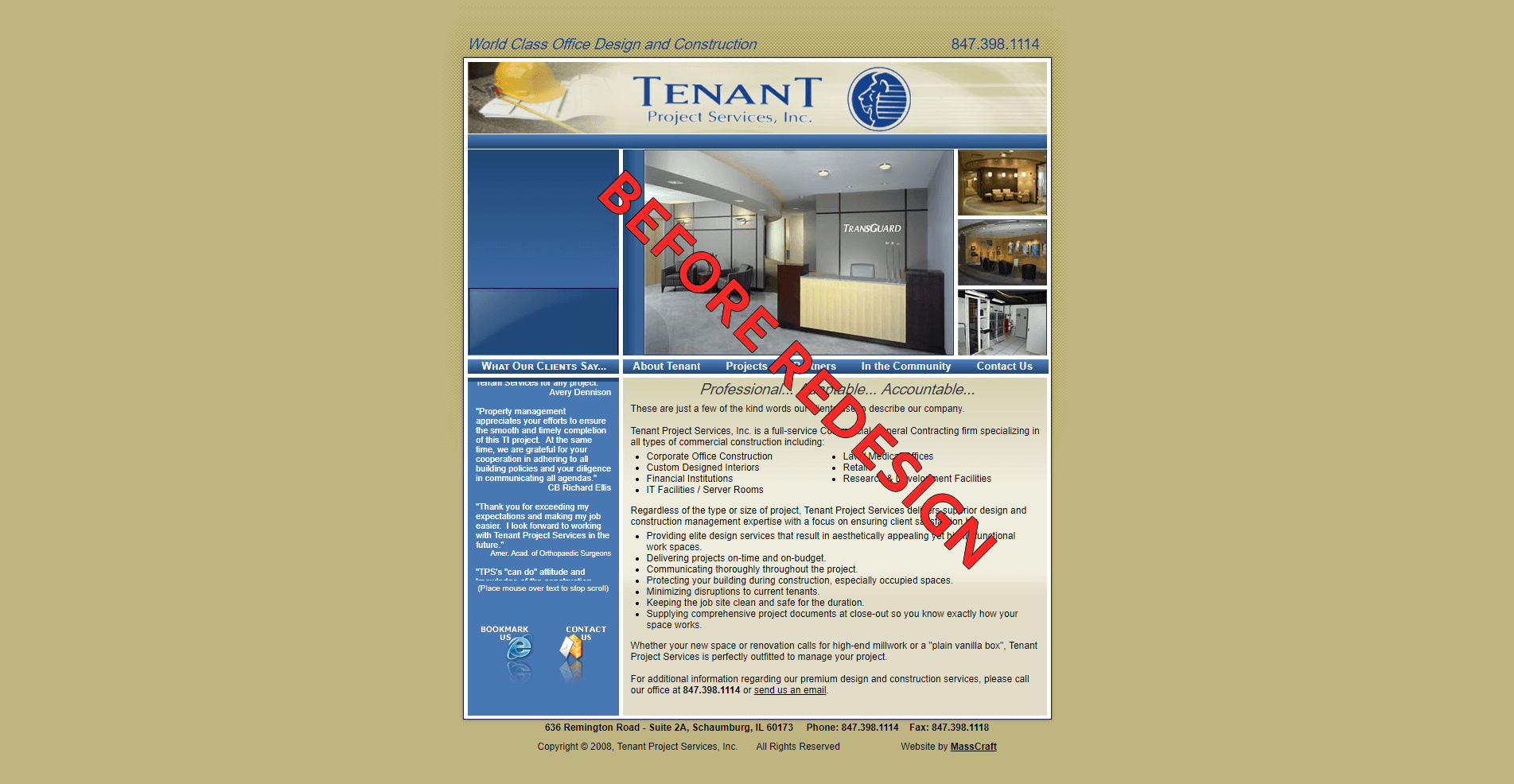 Tenant Project Services, Inc.
