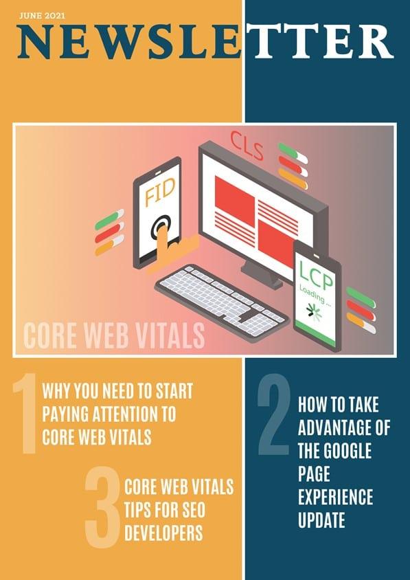 June 2021 Newsletter Core Web Vitals
