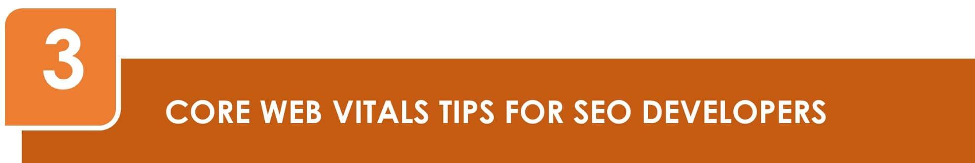Core Web Vitals Tips for SEO Developers